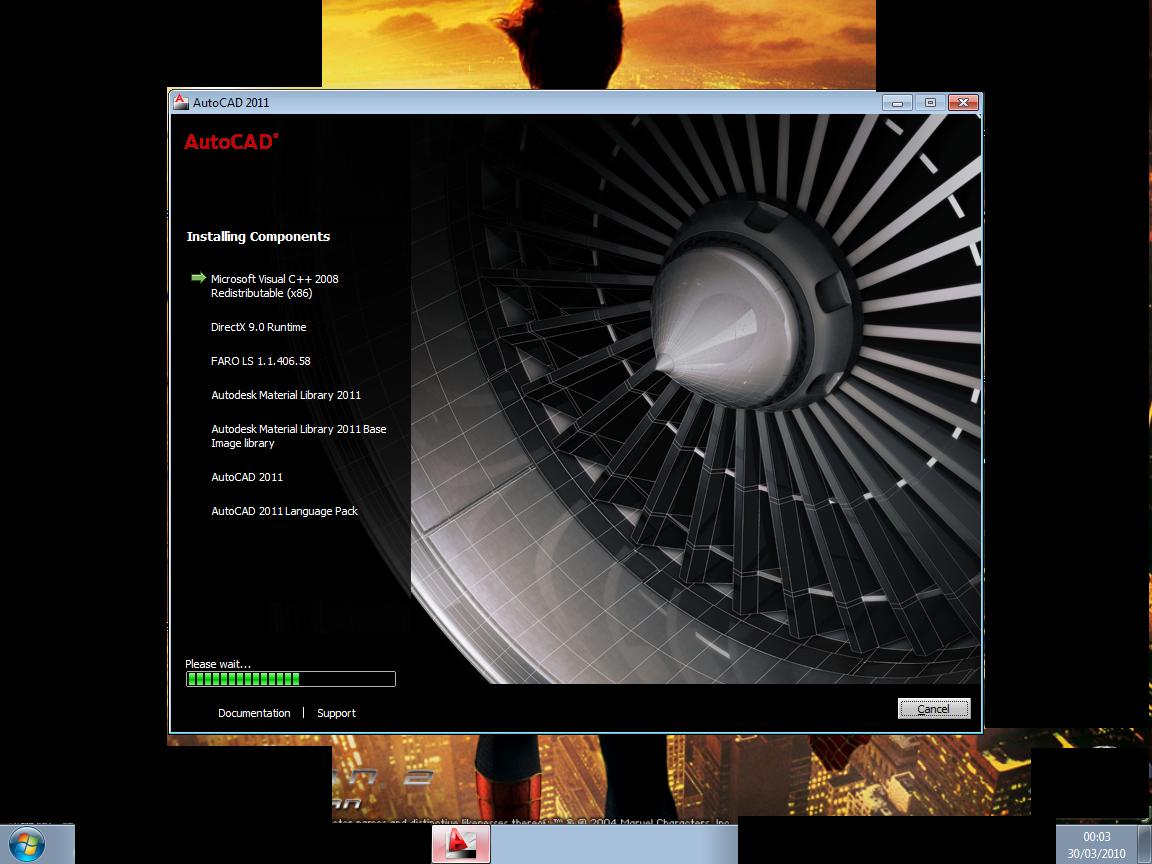 AutoCAD 2011 32 bits ou 64 Bits BR e Ingles