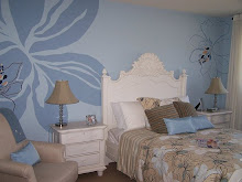 Kamar cantik dengan wallpaper