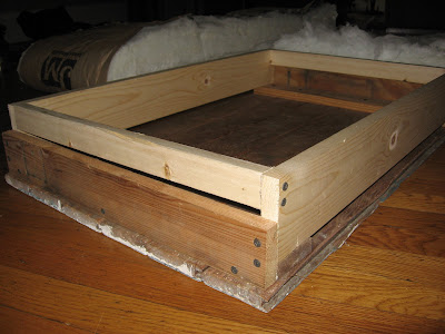 Lacing Insulation to an Attic Hatch Cover & Energy Conservation How To: Lacing Insulation to an Attic Hatch Cover