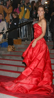 Jessica Biel at Metropolitan Museum of Art Costume Institute Gala 2009