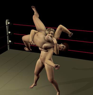 les gladiatrices french bikini wrestling. All the way down to the mat, .