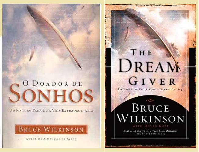 the dream giver by bruce wilkinson The dream giver by bruce wilkinson, the famed author of the prayer of jabez, tells us that every person on earth has been given a big dream to pursue he prods us to let go of the familiar, stand up against the nay-saying border bullies, and follow that dream into the land of promise.