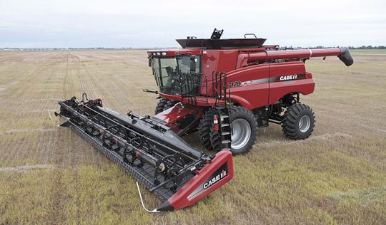 Axial Flow Combine : Wagner bros farms case ih axial flow combine comparison