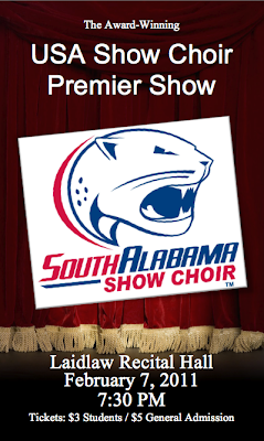 USA Show Choir Premier Show Banner