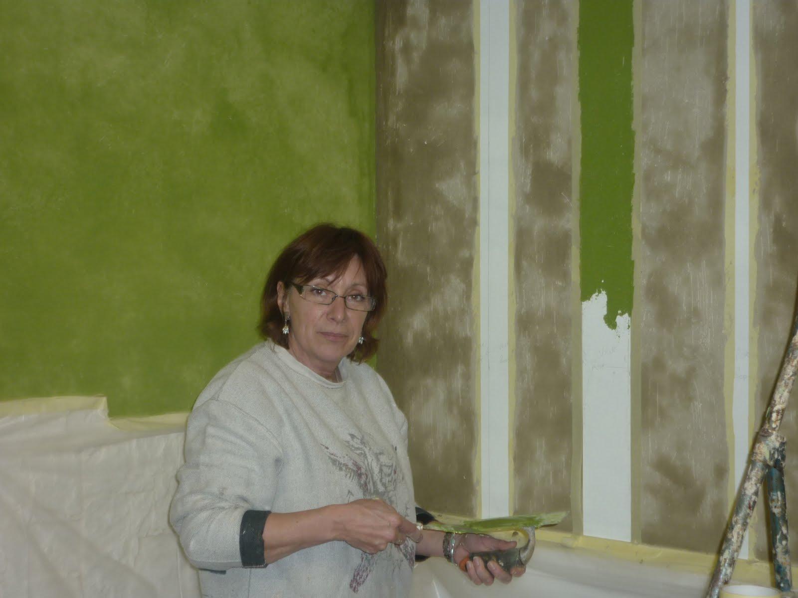 Dans l 39 art du temps d coration d 39 int rieur le savoir faire - Mur vert anis ...