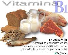 Tiamina B1 en los carbohidratos