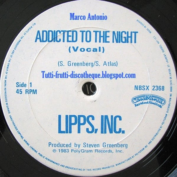 Lipps, Inc. - Addicted To The Night