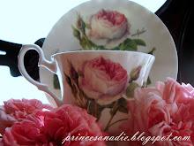 Desayuno con Té y Rosas