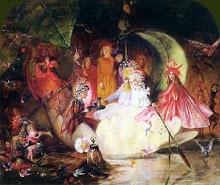 Bosques encantadados  con hadas y duendes de fitzgerald