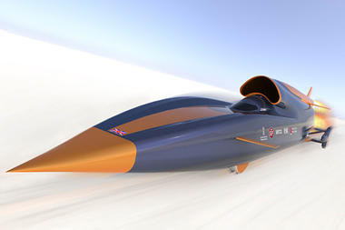 Bloodhound - Supersonic Car