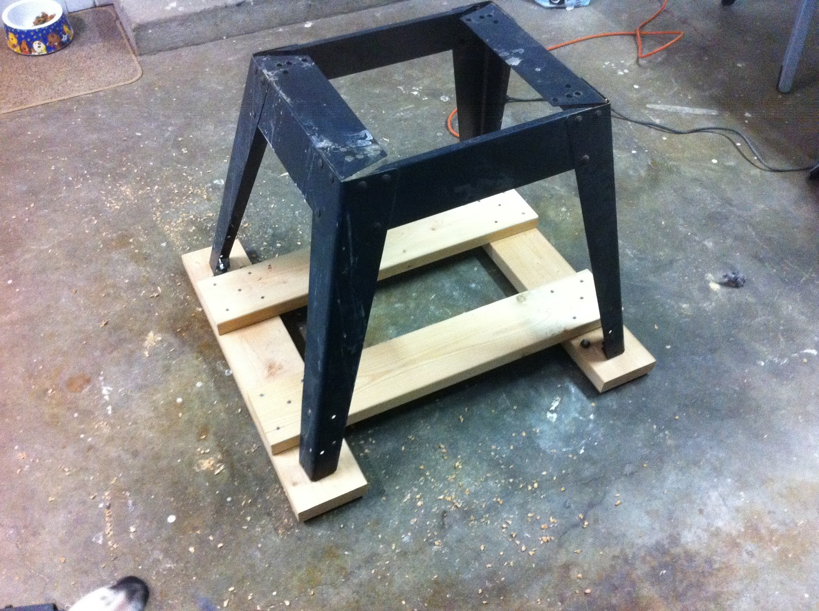Nick 39 S Blog Of Life Project Improve Table Saw Stand Part 1