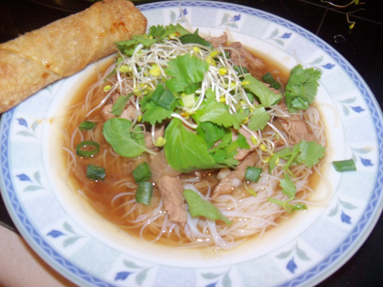 Vietnamese Beef and Rice Noodle Soup (Pho - Fo' Fake)