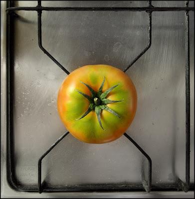 fotografia de un tomate