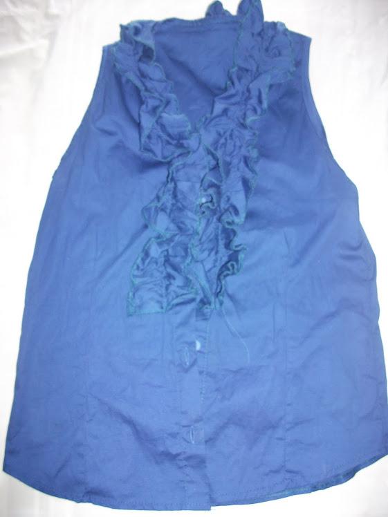 Blusa Azul Caneta