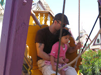 B and N on pirate boat