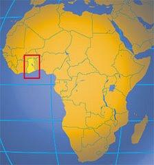 Ghana in West Africa