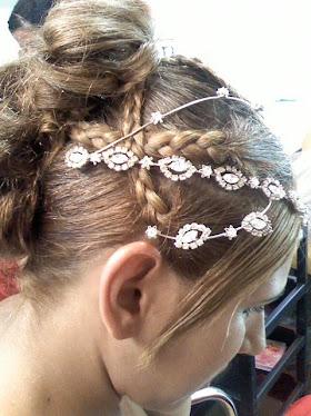 Noiva -  Penteado feito por Neide Cabelereira