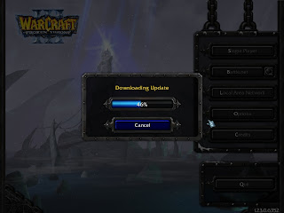how to upgrade warcraft 3 patches using battle net online dota