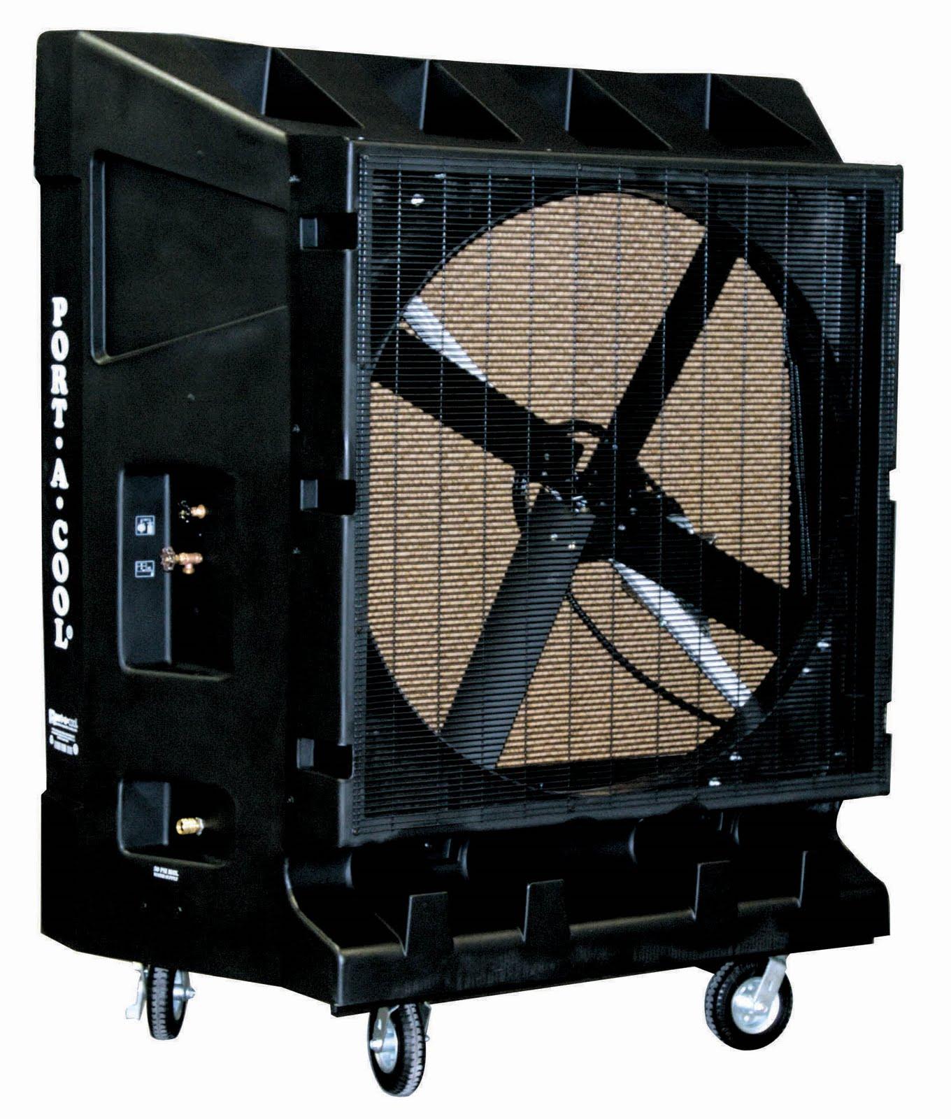 Industrial Swamp Cooler : Port a cool quot evaporative cooler cost saving industrial