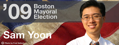 Fenway News Graphic of Sam Yoon
