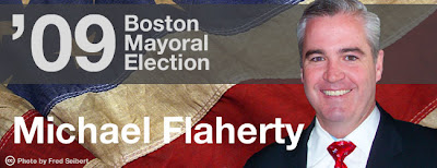 Fenway News Graphic of Michael Flaherty