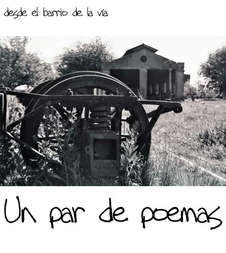 Un par de poemas