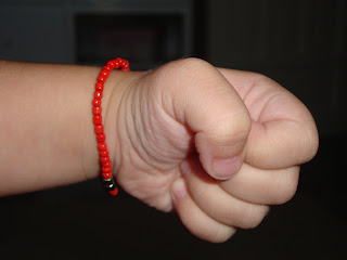 I Got Quite A Few Admonitions From Other Mothers In Our Town And Even Church For Not Putting Red Bracelet On Claire When She Was Baby