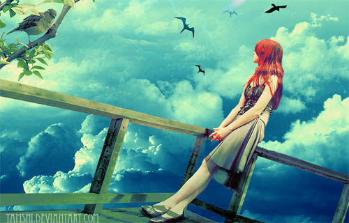 [girl+bridge+sky.jpg]