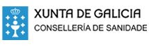 Logotipo de la Conselleria de Sanidade de la Xunta de Galicia