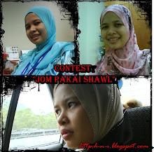 Contest Jom  Pakai Shawl