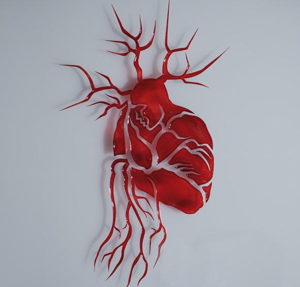 Miscelaneum: Ilusión óptica (Corazón Humano)