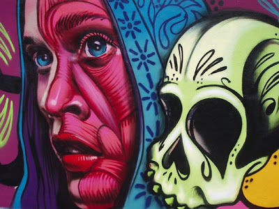 Grafitis en Santa Cruz de Tenerife