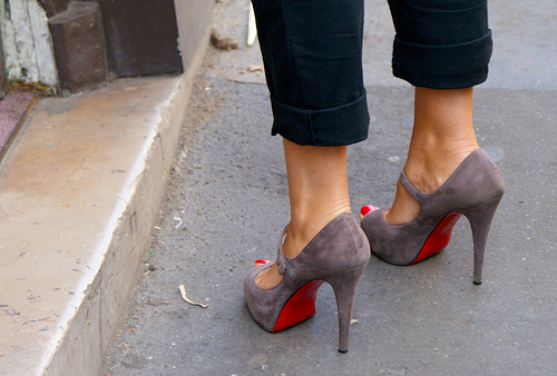 High Heels Red Toes