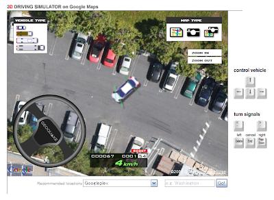 2d Driving Simulator >> Google Maps Platform: Simulating Driving on Google Maps: Using Flash for a Faster & Smoother ...