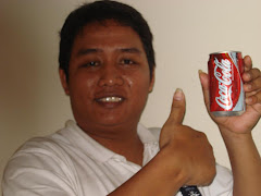 saya suka minum Coca-Cola