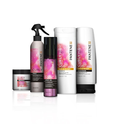 The last product we will highlight is their Curly Hair Products.