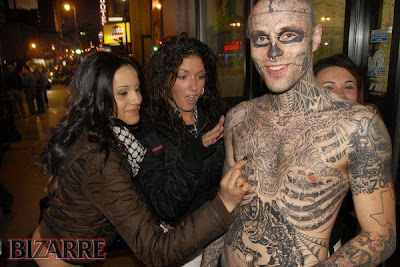 Funn, Weird and Bizarre Tattoos bizarre people6 Piercings and tattoos from