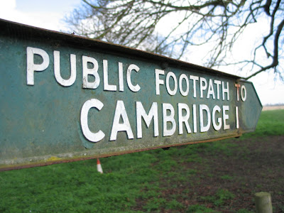image of Cambridge sign