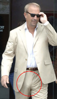 Bullfighters Bulges http://aboutthehair.blogspot.com/2008/08/kevin-costner.html
