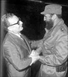 SALVADOR ALLENDE (Chile) y FIDEL CASTRO (Cuba), dos Grandes Estadistas de Nuestra America