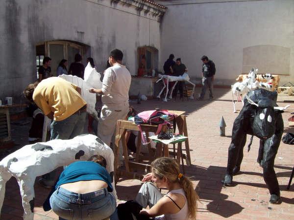la intervencion urbana - las vacas del 2008