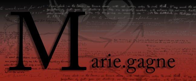 .: Marie.Gagne :.