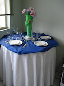 Locações de pratos, copos e talheres