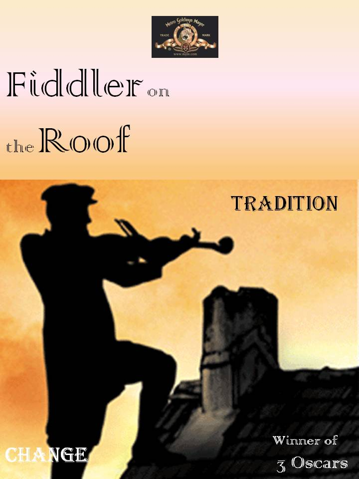 Wish To Become Fiddler On The Roof Movie Poster The