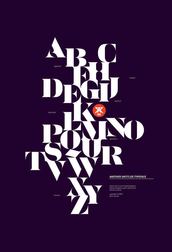 As A Type Addicted Designer He Likes To Build From Scratch Sometimes Even Designing Every Single Letter Of Poster