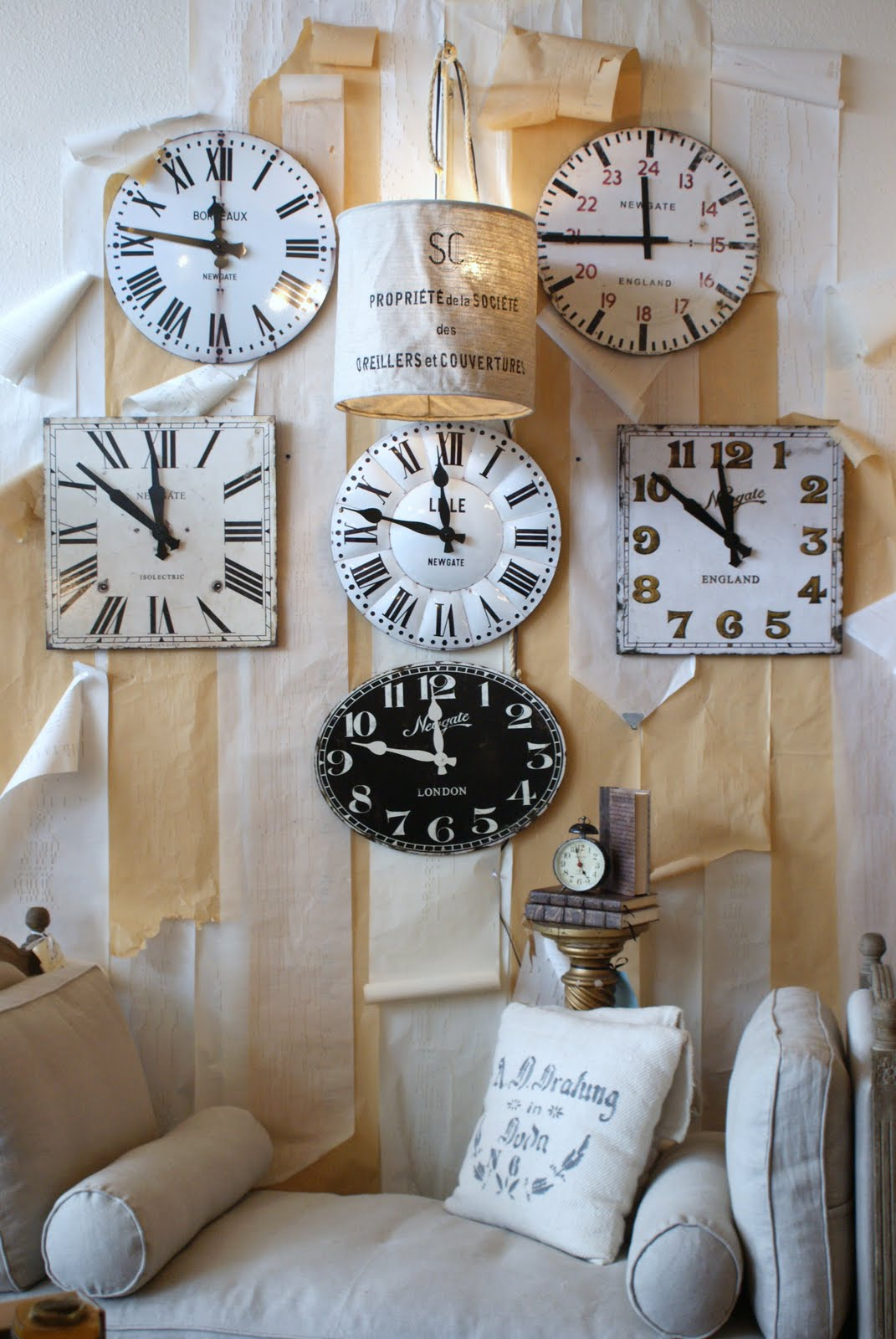 Faded Elegance Style: Newgate Clocks British design at its best