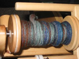 singles wool yarn