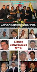 Líderes empresariales MYPE del año 2009