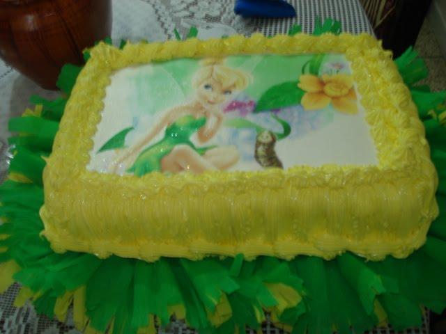 Tortas infantiles decoradas de campanita - Imagui