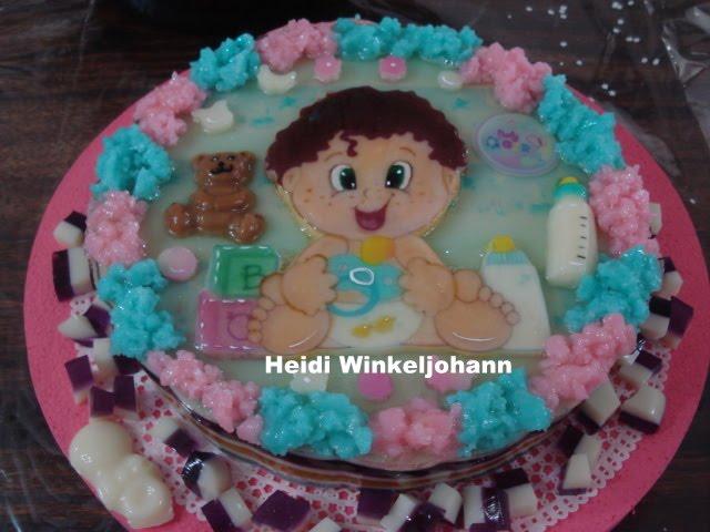 Gelatinas para baby shower - Imagui